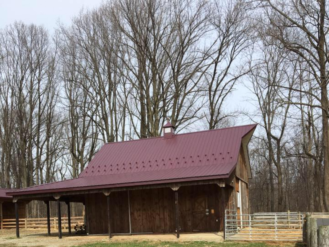 Get the storage space you need with an agricultural pole barn