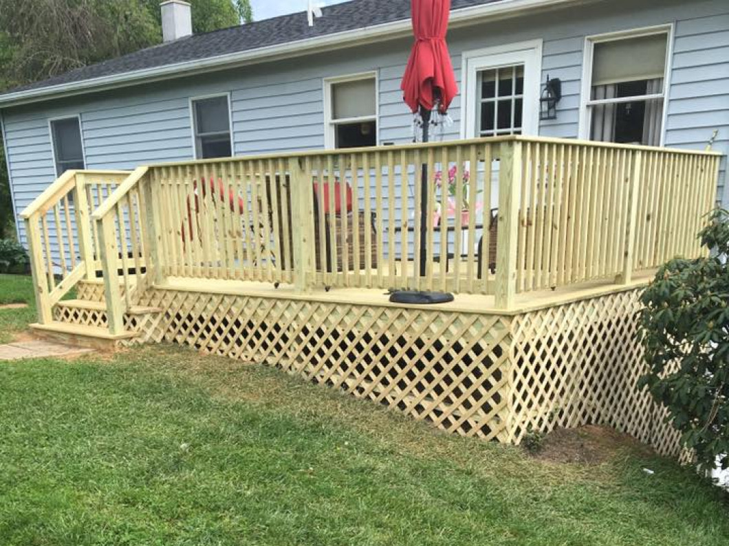 The Peach Bottom and Lancaster, PA Deck Builders Of Choice